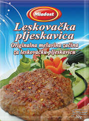 Vegetables for cevapcici Leskovacki