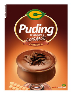 Chocolate pudding C