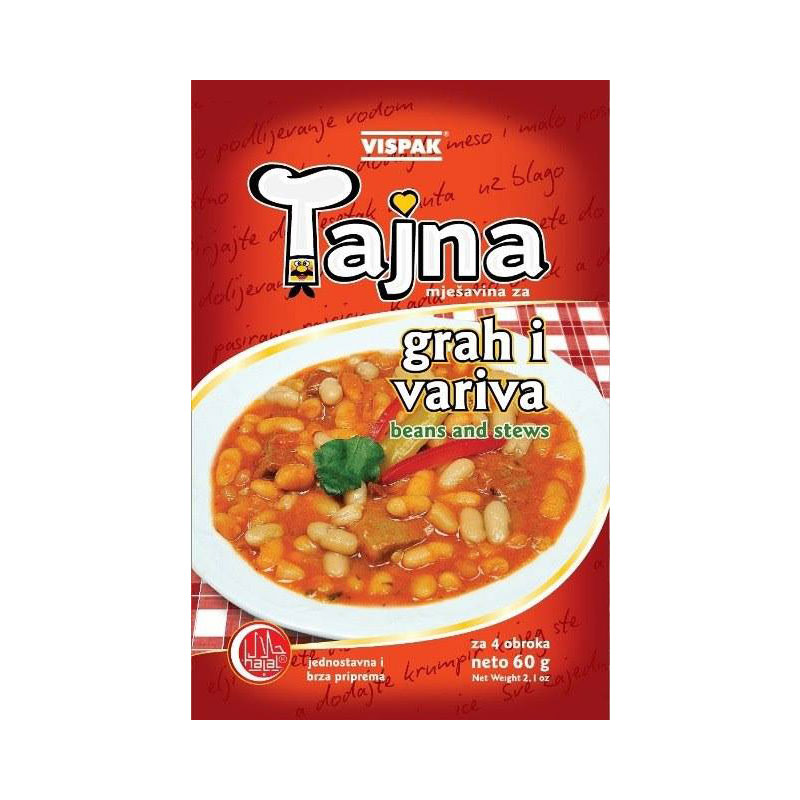Tajna - Vegetables for beans