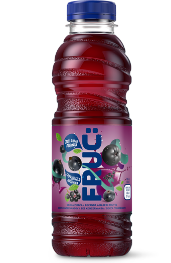 Fruc Aronia-Blackcurrant juice 0,5L